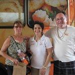 Johanne, Marie and Richard