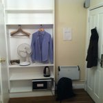 En Suite Room with clothes rail, tea & coffee making facilities, microwave, fan & heater