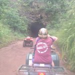 Sugar cane haul tunnel