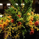 Autumn flowers in the foyer