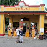 Shell station at the Gilmore Classic Car Museum, Hickory Corners, MI