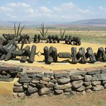 Zulu Memorial to the fallen
