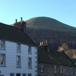 The hill on a cold winters day