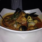 Bobby's Bouillaisse.   My friend swears it is the best he has ever had. #lovethisplace.
