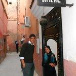 Riad Amlal entrance