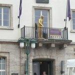 Hotel Entrance Balcony