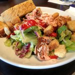 The salmon salad at Oliveto is outstanding!