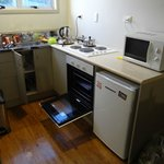 Space and facility in the kitchen