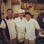 chef Theresa McGladae,Tony Lombardi,Zhenia Drazdou