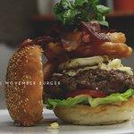 The Movember burger