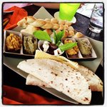Also recommended - the meze platter