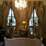 The elegant sitting room