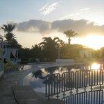 Zwembad 's morgens