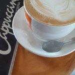 Cinnamon grande cappuccino
