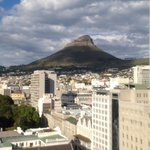 Our upgrade room - a view of Lion's Head but not the full mountain - still 2nd class.