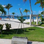 la plage de l'hotel