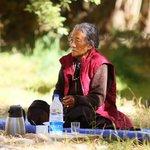 Ladakhi women at resort!