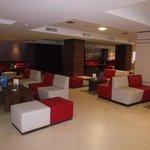 espace salon  de l'hôtel