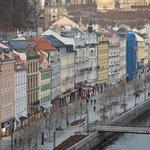 View from 4th floor, Stara Louka