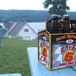 Drink Racer 5 outside the Olney Place