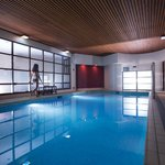 The Club Spa indoor salt water pool