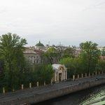 Вид с балкона ресторана