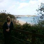 On the coastal walk
