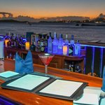 Bar with The best sunset views in caribbean