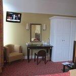 Our room at Les Courtilles