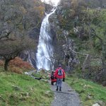 Almost at Aber Falls