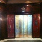 Palazzo entrance elevator