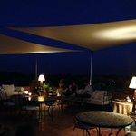 Terrasse panoramique nuit