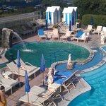 Una delle piscine termali