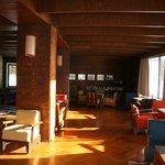 De lobby in Bauhaus stijl