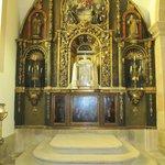 Uno de los altares.