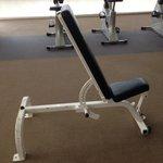 Gym peu equipee