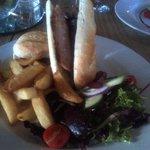 Sausage baguette