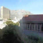 Vue de la chambre sur Table Mountain.