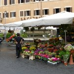 Piazza Campo d' Fiori, just around the corner, on Saturdays is something you don't wan to miss
