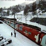 vertrek Glacier Express