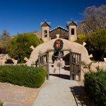Entrance to El Santurio de Chimayo