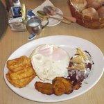 Rancheiro's breakfast