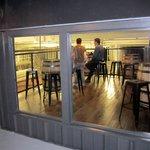 'Indoor Balcony' overlooking brew works