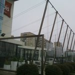 Frente do Hotel Ibis Montevideo