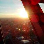 A vista é linda, mas Berlim ainda é muito melhor vista do nível da rua.