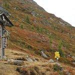 Wander-Tipp:  das Wetterkreuz über Ranach