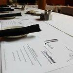 We create special menus upon request!