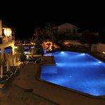 Pool at Nighttime