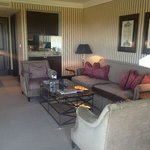 sitting room in my suite