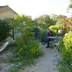 Picnic in our hidden garden